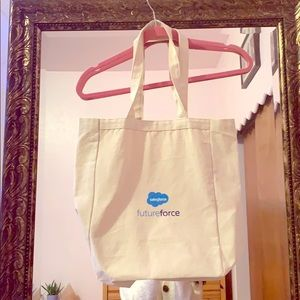 Sales force cotton tote bag from Gemline
